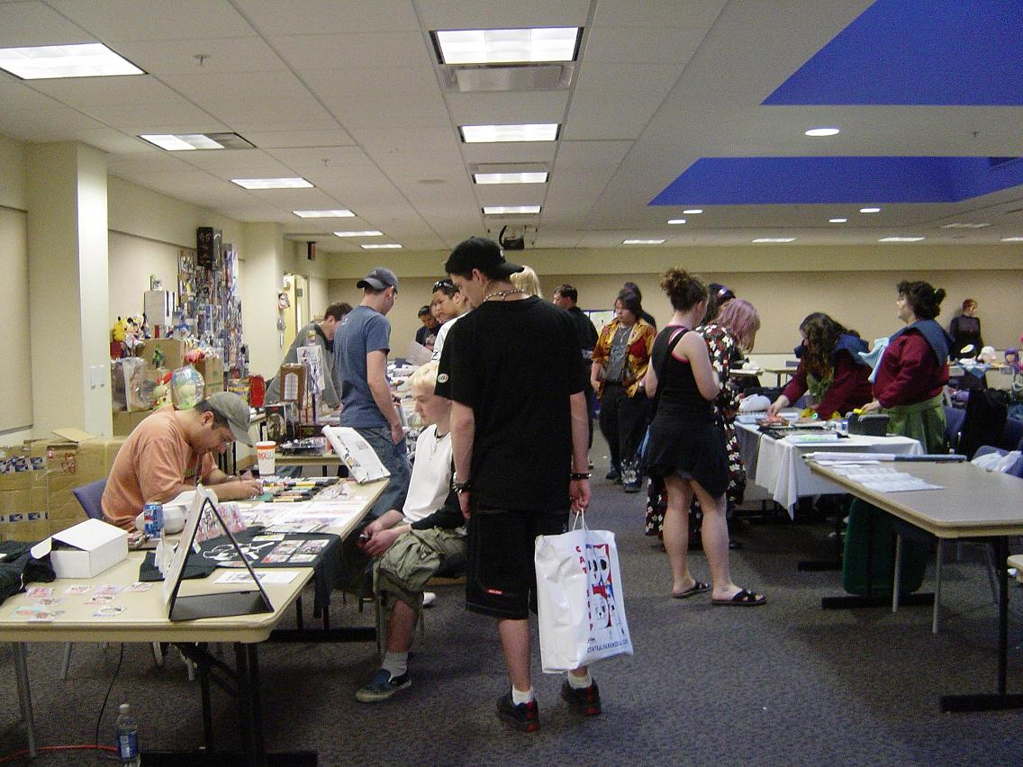The Artist Alley at Animarathon II.