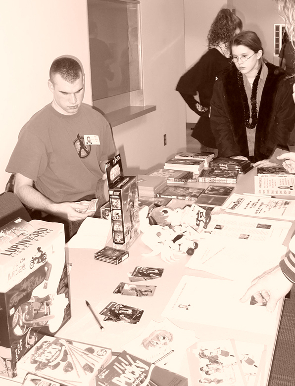 The early ANO prize table.